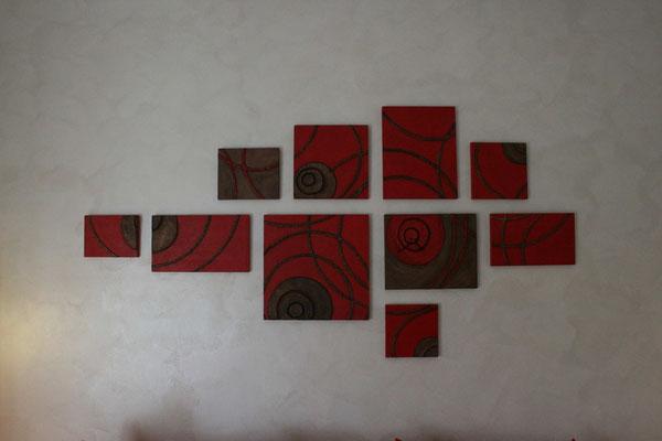 composizione in cartapesta