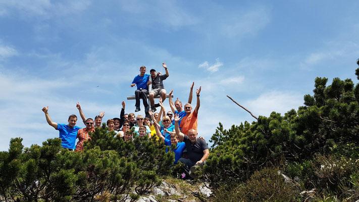25 Jahre Gipfelkreuz auf der Benzingspitze