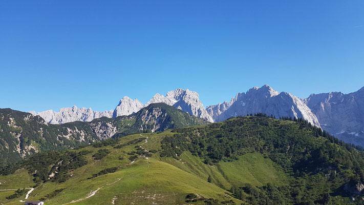 Das wilde Kaisergebirge