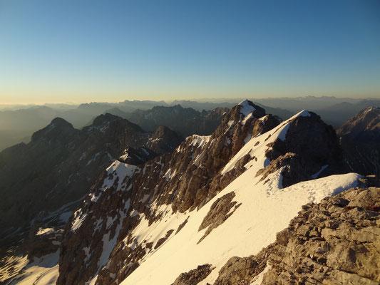 Jubiläumsgrat von der Zugspitze zur Alpspitze