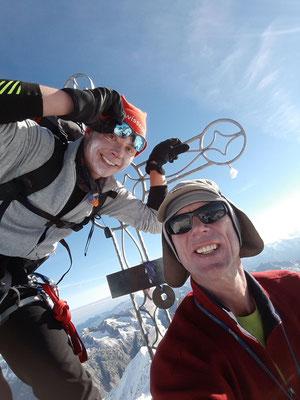 Gipfelfoto Oberaarhorn (3631m)