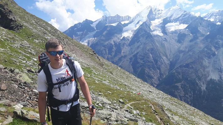 Aufstieg zur Weisshornhütte (Sebastian)
