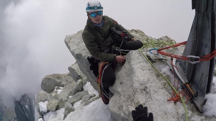 Weisshorn – Gipfelfoto Sebastian