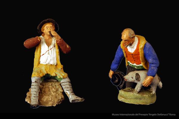 figure popolari inm costume abruzzese (prima metà 900)_Giuseppe Avolio_Pacentro (AQ) (3)