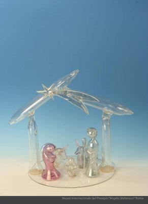 Presepio in vetro soffiato_Marostica (VC)