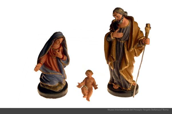 figure presepiali_terracotta policroma_Giuseppe Pesa (Seminara-RC)