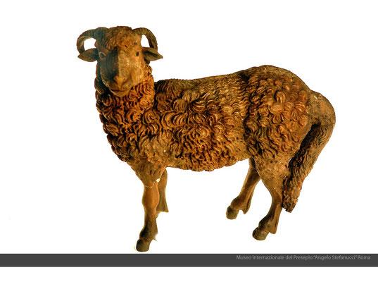 Montone_(sec.XVIII)_terracotta policroma_Napoli