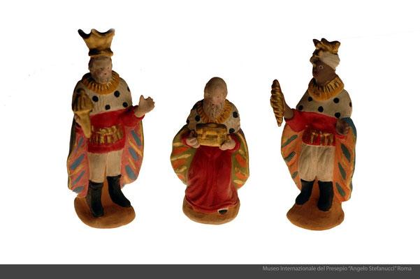 Statue in terracotta policroma_ALbisola (SV)