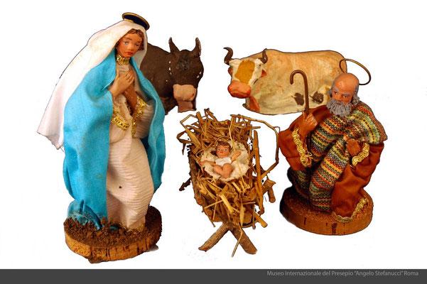 Statue in terracotta e stoffa. Artigianato_il Faro_(Tropea-VV)