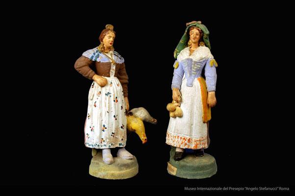 figure popolari inm costume abruzzese (prima metà 900)_Giuseppe Avolio_Pacentro (AQ) (2)