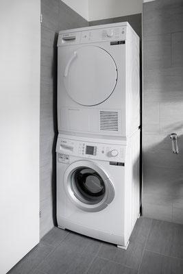 Sie waschen, wann Sie wollen: eigener Waschturm im Bad