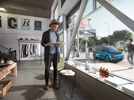 BMW i3 | Cquadrat Photography | Post on Location | BMW
