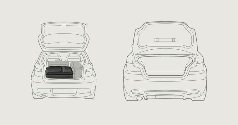 Vektor-IIllustration - Packanleitung - Kunde: BMW