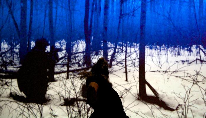 Valerie Blue, Inkjet print, 23x40 inches