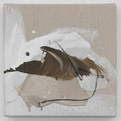 Nr. 35_5 Flugobjekt, 2011, 30x30 (verkauft)