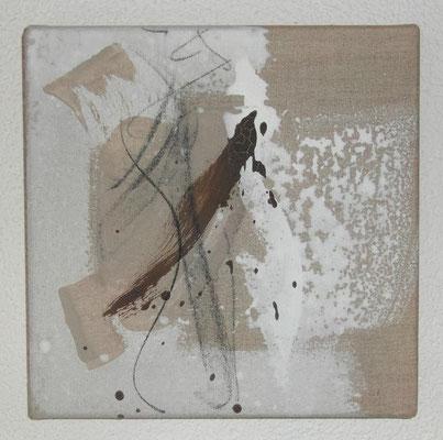 Nr. 35_12 Flugobjekt, 2011, 30x30 (verkauft)