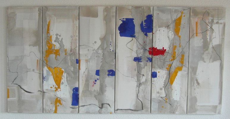 Nr. 64 o.T. 2014, 6x30x90 (verkauft)