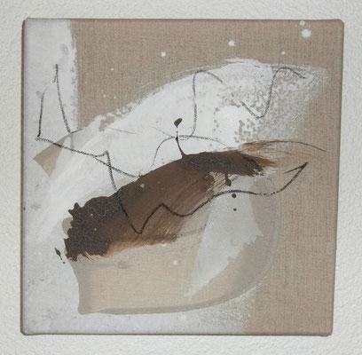 Nr. 35_6 Flugobjekt, 2011, 30x30 (verkauft)