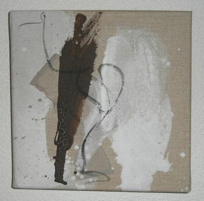 Nr. 35_1 Flugobjekt, 2011, 30x30 (verkauft)