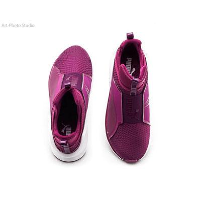 предметная фотография обуви от TM Puma