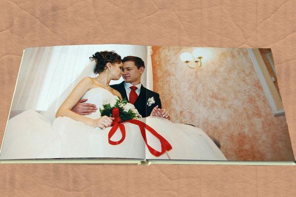 классическая свадебная фотокнига в Харькове