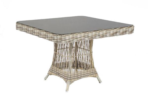 плетеная мебель - столик