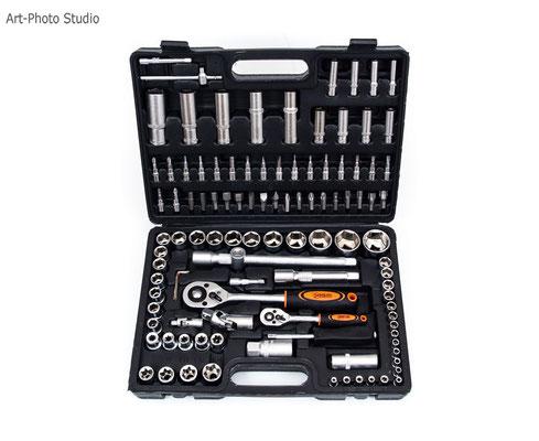 строительные инструменты и инвентарь - фотосъемка для интернет-магазина