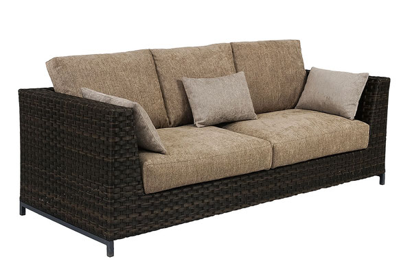 набор плетеной мебели- диван
