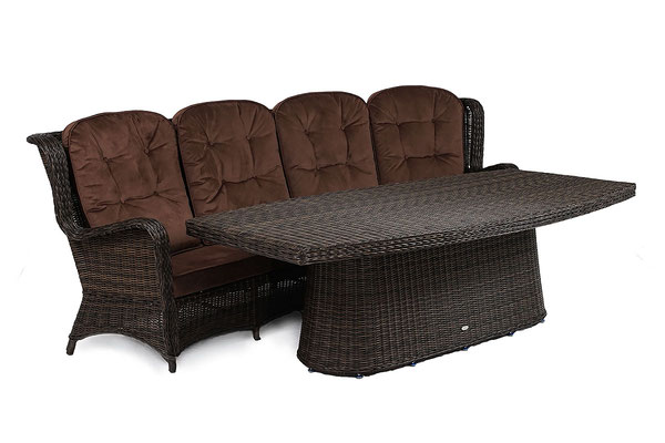 предметная фотосъемка плетеной мебели
