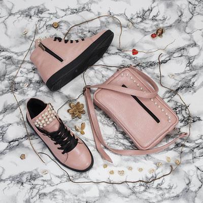 фотосъемка обуви и сумок для социальной сети Instagram
