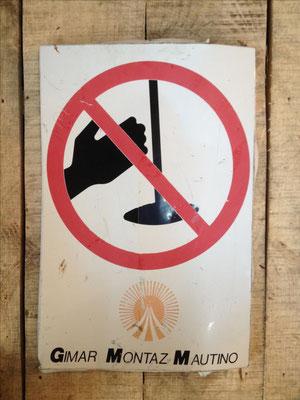 Panneau ski vintage altipic ref 036 avec pied + embase acier