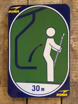 Panneau ski vintage altipic ref 006  2 exemplaires