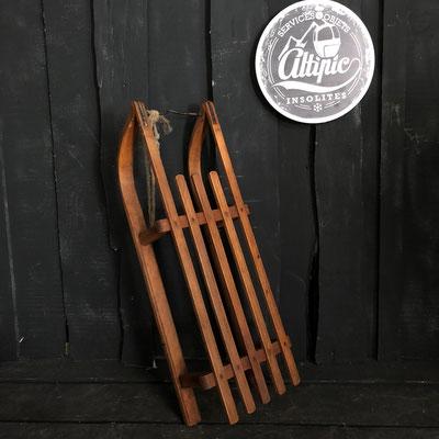 luge bois vintage altipic ref020