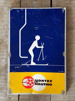 Panneau ski vintage altipic ref 041