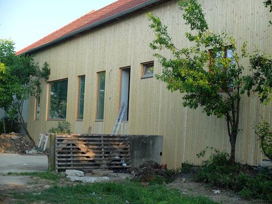 Fassade ohne Terrasse