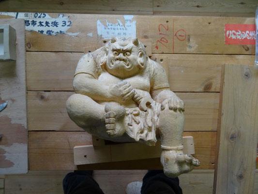 木彫原型です。