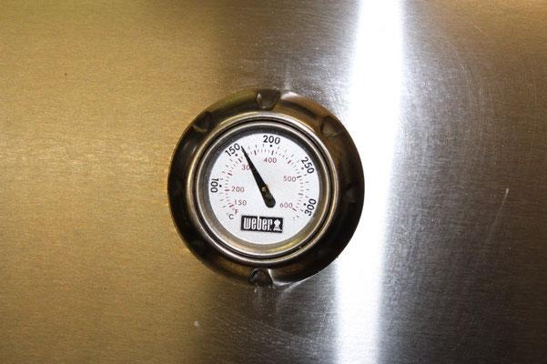 Thermometer im Deckel