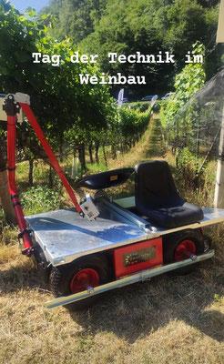 Frucotec Elektrowagen Weinbau mit Sitz