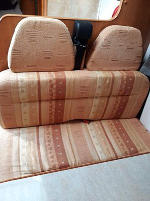 Intérieur de camping car (avant) - Au Fil des Tissus