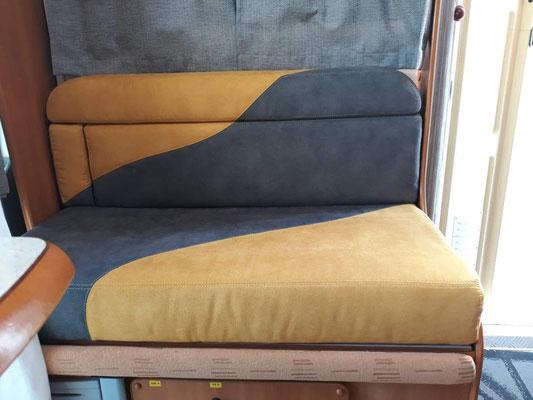 Intérieur de camping car - Au Fil des Tissus