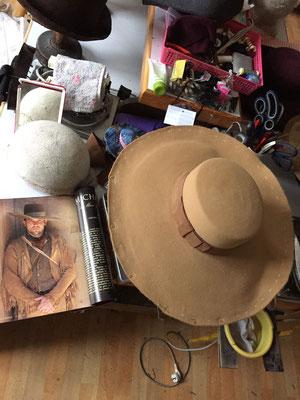 Western Hut aus eigener Kollektion