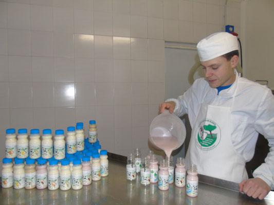 produzione yogurt drink
