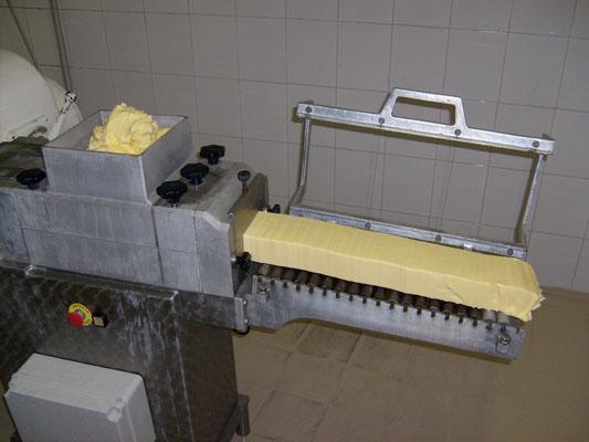 formazione panetti di burro
