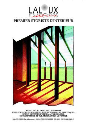 Laloux Stores / Fernand Flausch et Chris Renault