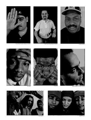 "Kenny""Dope""Gonzalez , ""Little""Louie Vega (Masters At Work), Frankie Knuckles, MC Solaar, Graig Mack, Robert Clivilles (C+C Music Factory), Urban Species,Digable Planets"