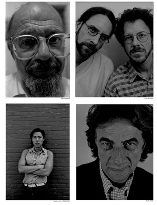Allen Ginsberg, Coen Brothers, Stephen Gan (VISIONAIRE), Paule Smith