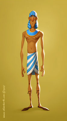 Egyptian Villager