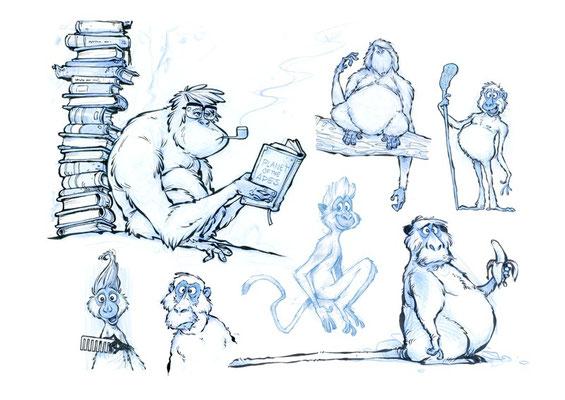 Apes.