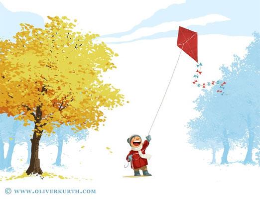 """Let's go fly a kite!"""