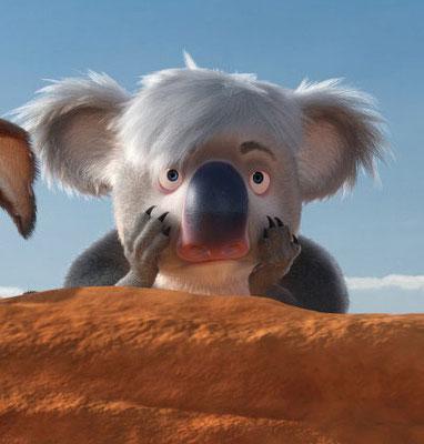 """Ken"" the koala."